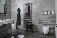 Badkamer. Color Tile, Colour, Bathroom Inspiration, Bathroom Ideas, Radiators, Toilet, Bathtub, Interior, House