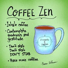 Coffee Zen / DON'T STAB!