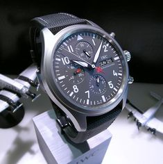 ♠ iWC Chronograph #Men #Watches #Lifestyle