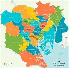 Bairros de Tóquio