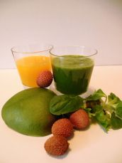 Groene smoothie - #glutenvrij #lactosevrij #koemelkvrij #sojavrij Green smoothie - #glutenfree #lactosefree #dairyfree #cowsmilkfree