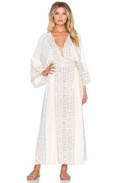 fbe72f7d1fa7 Shop for Free People Modern Kimono Dress in Pearl Combo at REVOLVE. Free  day shipping and returns