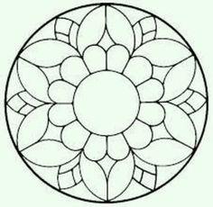 ԑ̮̑♦̮̑ɜ~Mandala para Colorear~ԑ̮̑♦̮̑ɜ for fitness videos check o. Mandala Drawing, Mandala Painting, Dot Painting, Mandala Art, Stained Glass Designs, Mosaic Designs, Stained Glass Patterns, Free Mosaic Patterns, Mosaic Art