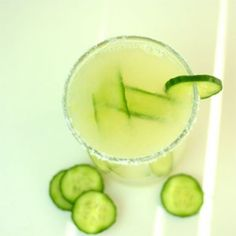 Cucumber Margarita cocktail recipe: It's happy hour at DDG!