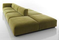 Modular sofa / contemporary / by Piero Lissoni - 271 MEX CUBE - Cassina                                                                                                                                                                                 Mais