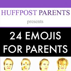 24 new Emojis for Parents featuring Kim Bongiorno @letmestart on @HuffPostParents