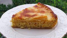 ΜΑΚΑΡΟΝΟΠΙΤΑ της Γκόλφως θα την αγαπήσετε Pie with spaghetti and cheese Pie Crust Recipes, Lasagna, Quiche, Food And Drink, Breakfast, Ethnic Recipes, Desserts, Youtube, Morning Coffee