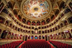 Magyar Állami Operaház (Hungarian State Opera House) 29 Places That Prove Budapest Is The Most Stunning City In Europe Cities In Europe, Central Europe, Prague, Places Around The World, Around The Worlds, Wachau Valley, Paris, Capital Of Hungary, Budapest Things To Do In