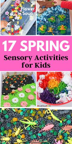 Sensory Bins, Sensory Activities, Sensory Play, Activities For Kids, Arts And Crafts Projects, Toddler Preschool, Spring Crafts, Pre School, Toddlers