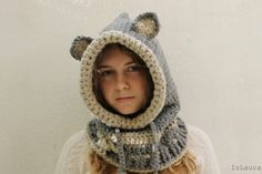 come-fare-un-cappuccio-da-lupo-a-crochet - IsLaura