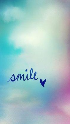 Обои iPhone wallpaper smile