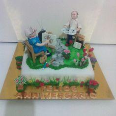 Torta Anniversario 50 anni  - Le torte di Camilla Jesholt Buffatti