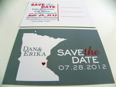 save the dates should only be sent to out of town guests anyway :)