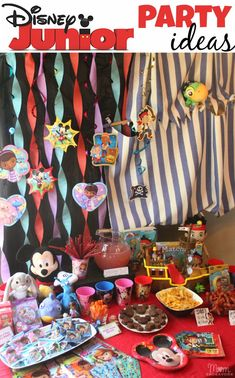 So many cute & easy Disney Junior party ideas! #juniorcelebrates #shop #disney