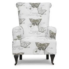 Butterfly chair - pretty!