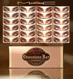 "MAC cosimetics: Too Faced ""Chocolate Bar"" eyeshadow • Sims 4 Downloads"