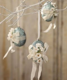 Look at this #zulilyfind! Feather Your Nest Egg Ornament #zulilyfinds