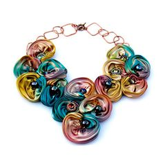 Blooming Necklace, $560, now featured on Fab.