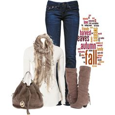 A fashion look from October 2013 featuring Free People tops, True Religion jeans and Naughty Monkey ankle booties. Browse and shop related looks.