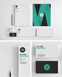  #stationary #corporate #design #corporatedesign #identity #branding #marketing < repinned by www.BlickeDeeler.de   Take a look at www.LogoGestaltung-Hamburg.de