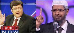 Zakir Naik slaps Rs 500 crore defamation notice to Times Now and Arnab Goswami