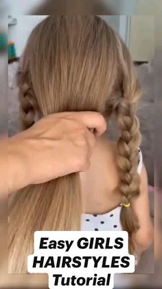 Baby Girl Hairstyles, Easy Hairstyles For Long Hair, Pretty Hairstyles, Pixie Hairstyles, Hairdos, Girl Hair Dos, Toddler Hair, Aesthetic Hair, Tips Belleza