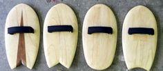 Handplanes for bodysurf body whomping, prancha de bodysurf