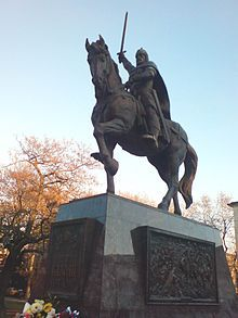 Kaloyan the Romanslayer ruled as emperor (tsar) of Bulgaria 1197–1207. He is the third and youngest brother of Peter IV and Ivan Asen I who managed to restore the Bulgarian Empire. Kaloyan is notable for managing to stabilize the tsar's power and the Second Bulgarian Empire's position as a regional power thanks to his successful campaigns against the Latin Empire.