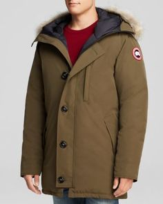 CANADA GOOSE Chateau Parka With Fur Hood. #canadagoose #cloth #hood