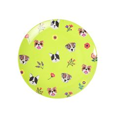 Doggy Side Plate.  Melamine.  By Ginget