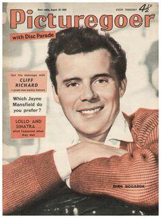 Dirk Bogarde - Picturegoer Magazine Archive