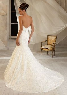 Princess Bridal Gown By MoriLee Wedding Dresses Size 10