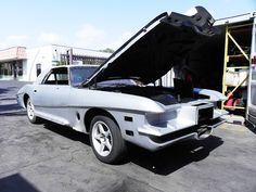 1975 Stutz Blackhawk restoration project. Same car driven by Elvis, Dean Martin, and Johnny Cash