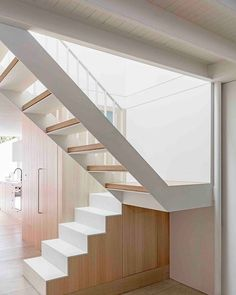 In Australia, @bennandpenna_architecture transformed a formerly dark residence into one of abundant natural light and generously proportioned spaces, including the addition of a steel staircase that rises through the middle of the building. : Tom Ferguson. @sandow... - Interior Design Ideas, Interior Decor and Designs, Home Design Inspiration, Room Design Ideas, Interior Decorating, Furniture And Accessories