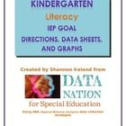 These Data Collection Sheets focus on 8 different IEP Goal areas based on Kindergarten Common Core Standard areas. For Special Ed teachers!  These resources are intended to...
