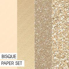 Glitter&Plain PAPER set Bisque by Fashiontelligent Rose Gold Texture, Paper Fashion, Color Boards, Color Pallets, Digital Pattern, Paper Texture, Textured Background, Pantone, Pallets