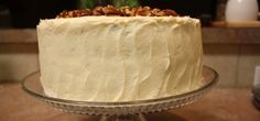 White Chocolate Cake with Cream Cheese Frosting Recipe