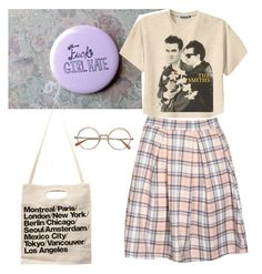 """""""Untitled #27"""" by kittymaid ❤ liked on Polyvore featuring Boohoo, American Apparel and Retrò"""