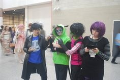 Invader Zim Cosplay AHH  THE ZIM'S HAIR <3