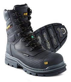 e1f3983e Men's 8'' Vibram Thermostatic Arctic Grip Pro Composite Toe Composite Plate  Waterproof Boots