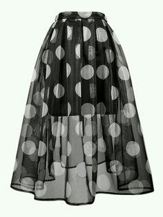 falda chifon