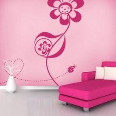 Pegatinas Paredes Amor Floral