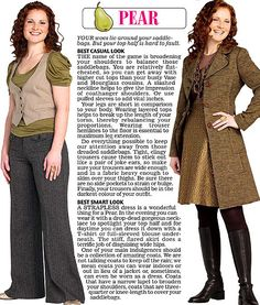 Trinny and Susannah show off the clothes to suit their 12 women's body types