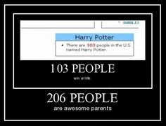 Parenting Potter for the win!