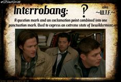 #SPNandVocab, Vocabulary with a SPN twist -> Interrobang: A question mark and an exclamation point combined into one punctuation mark. Used to express an extreme state of bewilderment. aka WTF