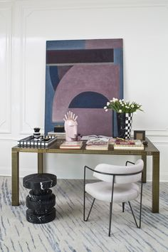 Precision Dining Table and Apollo Stool. Xk