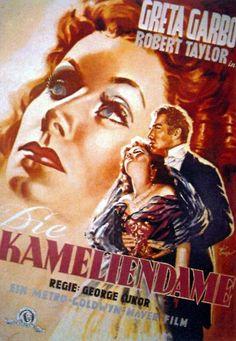 Greta Garbo Camille German Poster