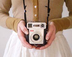Kodak Brownie Starmatic - Vintage Camera.  My Grandfather had a camera like this