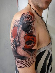 -->> Xoïl is a tattooer at Needles Side Tattoo in Thonon-les-Bains, France.