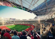 CGarchitect - Professional 3D Architectural Visualization User Community   ALTAjiat stadium